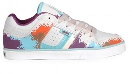 Osiris Skateboard Shoes --Libra Girls- White/Multi/Ellis