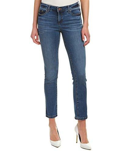 Jones New York Women's Madison Slim Ankle Cool-Max in Dreamer Wash Dreamer Wash 14 (Jones Wear Jeans)