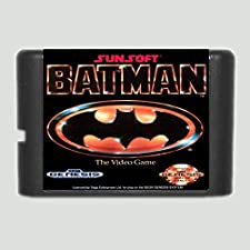16 Bit Sega MD Game - Batman 16 Bit MD Game Card For Sega Mega Drive For Genesis - Sega Genniess , Sega Ninento , Sega Mega Drive