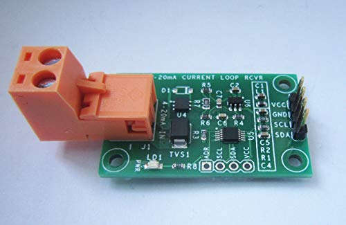 FidgetGear 4-20mA Current Loop Receiver w/ I2C Interface from FidgetGear