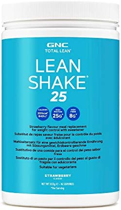 GNC Total Lean® Lean Shake ™ 25 - Erdbeere, 16 Portionen, Mahlzeitenersatzshake