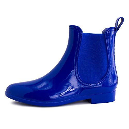 Stivali Da Pioggia Per La Caviglia Per Le Donne (adulti) Blu Royal