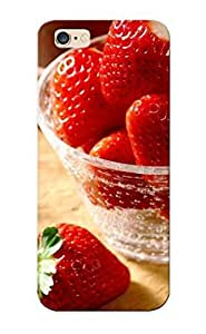 Style VWmWMfW3411rZjBi Cup Of Strawberries Compatible With Case Cover For SamSung Galaxy S4 Protection Case