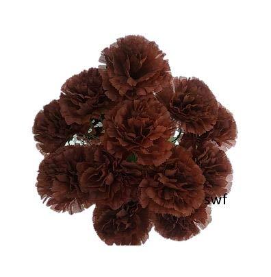 20-Carnation-Bush-Silk-Wedding-Flowers-Bouquets-Centerpieces-12-Carnations