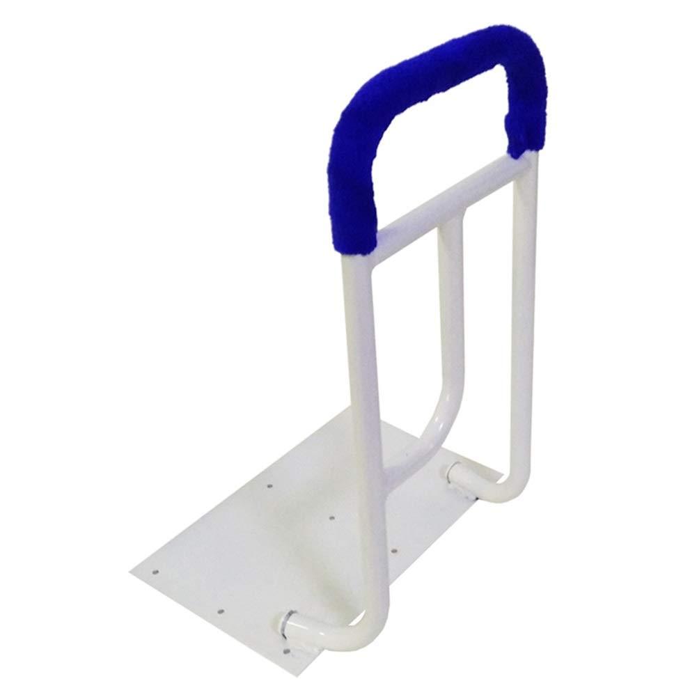 ベッドレール 金属の白いベッドの柵 - 年配者/妊娠中の女性のための安全ベッドサイドアシストハンドル、400ポンドまでの負荷   B07R1T9G2K