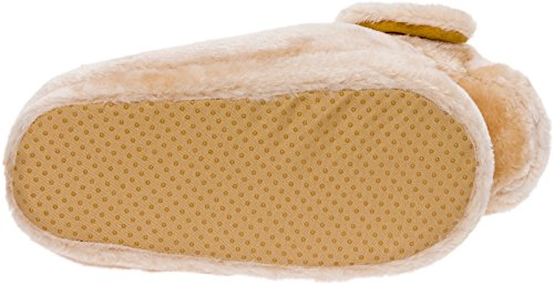 Silver Lilly Golden Retriever Slippers - Plush Dog Slippers w/Platform by (Gold, Medium) by Silver Lilly (Image #5)