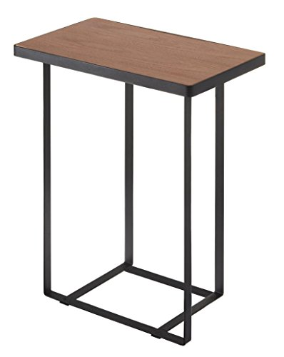- YAMAZAKI home Tower Side Table and Magazine Rack, Black