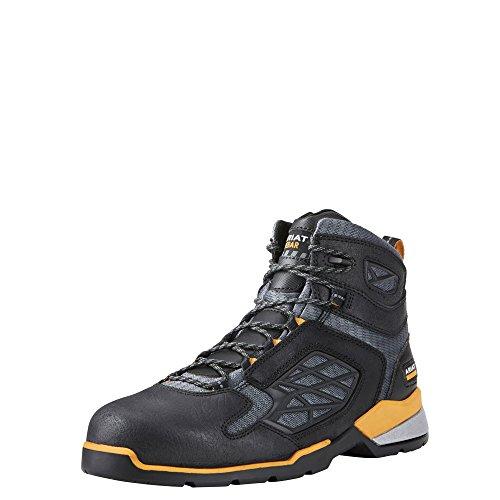 Ariat Work Men's Rebar Flex 6' Composite Toe Work Boot, Chocolate Brown, 13 D US