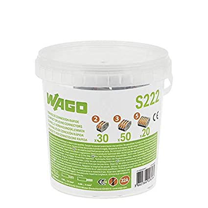 Bornas de conexi/ón Surtido 70-piezas Wago