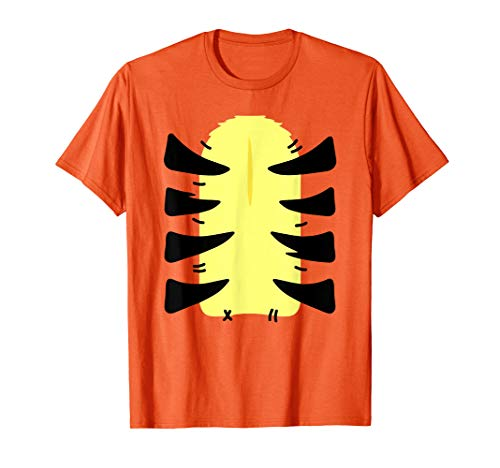 Tiger Costume Shirt DIY Funny Animal Halloween Costume T-Shirt]()
