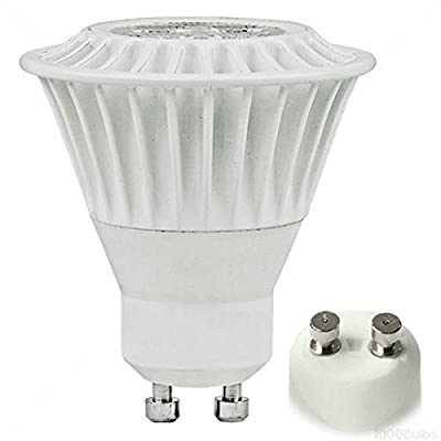 TCP 50W Equal 3000K MR16 GU10 LED Light Bulb - 7W 82 CRI 40 Deg. Flood - LED7MR16GU1030KFL