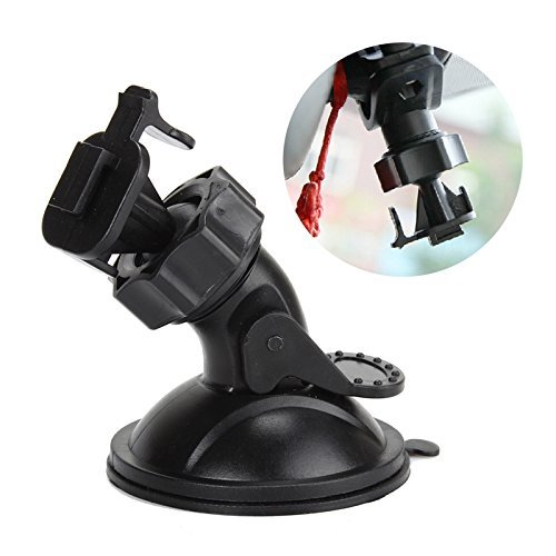 Mini T Type T-Single Car Windshield Windscreen Window Suction Cup Mount Holder Bracket for Video Recorder DVR Camera 360 degree Rotation T-Single Buckle