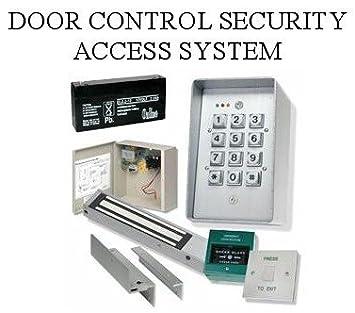 TC234  DOOR ACCESS CONTROL SYSTEM, DIGITAL KEYPAD/MAGNETIC LOCK/PUSH TO EXIT