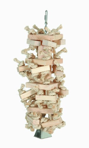 """Paradise Toys Natural Knots n"""" Blocks 6-Inch W by 15-Inch L"""