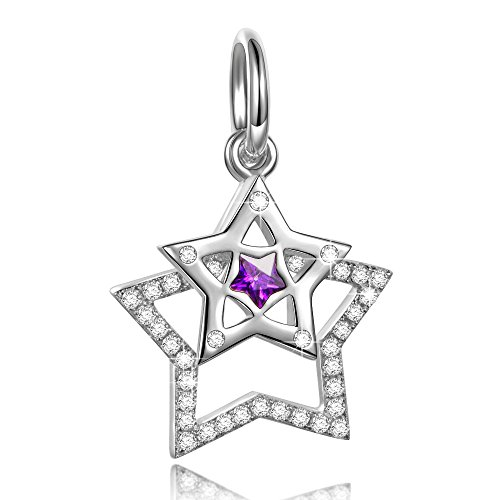 Sterling Silver Double Star (NinaQueen