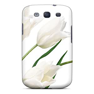 XiFu*MeiHot Style PlXHEbt3656suTRG Protective Case Cover For Galaxys3(tulip Flowers 54)XiFu*Mei
