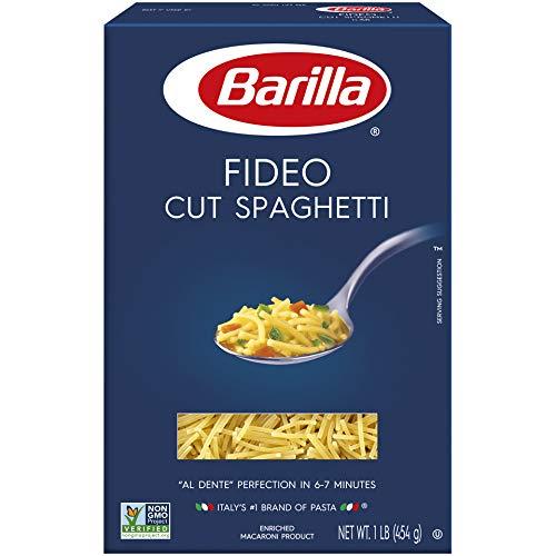 Fideo Pasta - Barilla Pasta, Fideo Cut Spaghetti, 16 Ounce (Pack of 16)