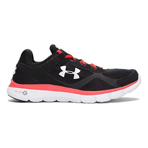 Under Armour Men's UA Micro G Velocity Graphic Running Shoes 14 Black iKqLVXMyL