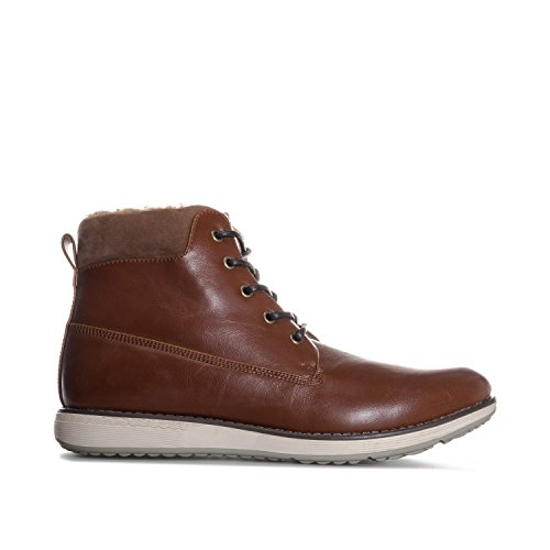 Firetrap Men's Lined Soft Round Boot US11 Brown