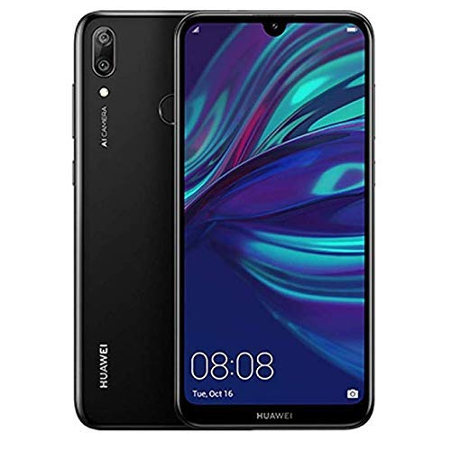 Huawei Y7 2019 Dub-LX3 32GB Unlocked GSM LTE Android Phone w/Dual 13MP+2MP Camera - Midnight Black (Renewed) (Best Cell Phone 2019 Under 300)