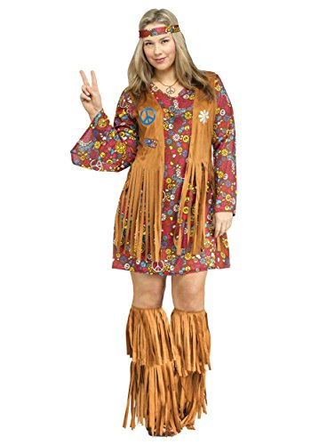 Peace & Love Plus Size Costume -