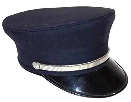 Vintage Fire Department Dress Uniform Ceremonial Cap Fireman's Hat - Size 6 7/8
