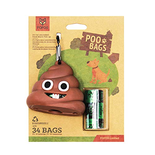 Kouik Biodegradable Dog Waste Poop Bags – Environment-Friendly – Good for Sensitive Pets