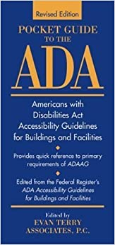 Pocket Guide to the ADA: Americans with Disabilities Act Accessibility Guidelines for Buildings and Facilities by Evan Terry Associates (1997-04-11)