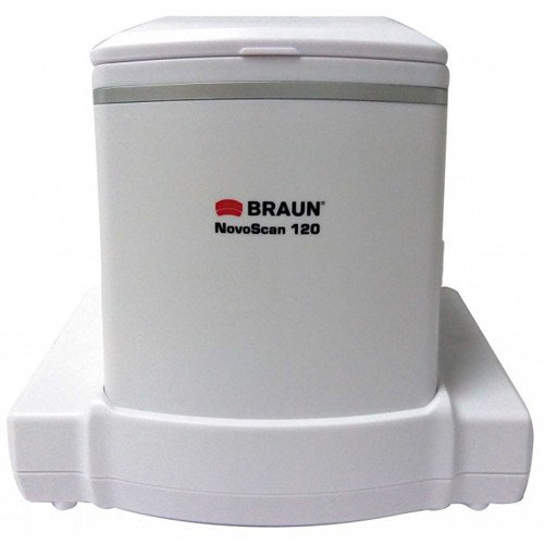 Braun NovoScan 120 Stand-Alone Scanner for Film, Slides, and Photos, 14MP Optical Resolution
