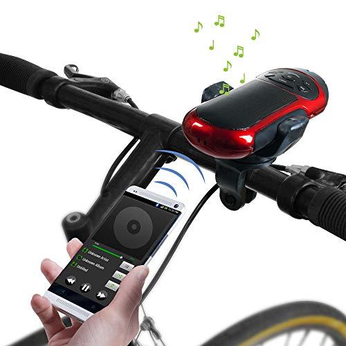 Northwest Portable Bluetooth Speaker with Flashlight and Bike Mount