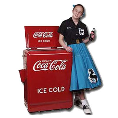 Vintage Coke Cooler Kamisco