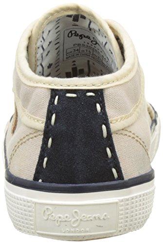 Pepe Jeans London Industry Blue, Zapatillas Para Niños Beige (Sand)