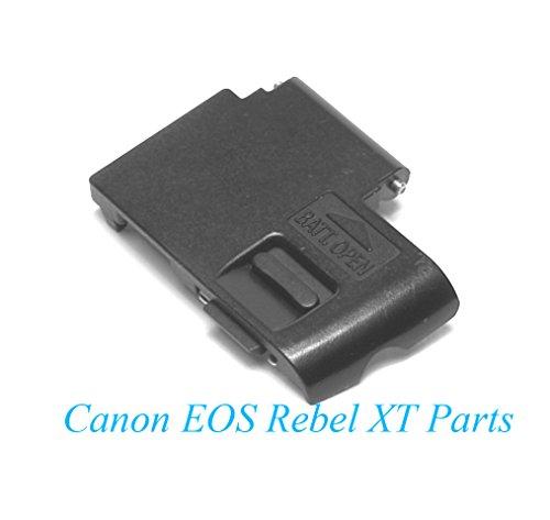 (Genuine Canon EOS Rebel XT / 350D Battery Door (Black) - Replacement)