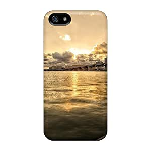 (GkAltZz800MXpgh)durable Protection Case Cover For Iphone 5/5s(wonderful Bridge Across The Bay Hdr)