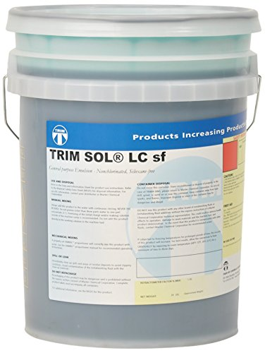 TRIM Cutting & Grinding Fluids SOLND/1 General Purpose Emulsion, No Dye, 1 gal Jug