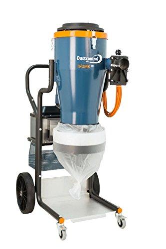 Dust Control Tromb 400L 212 cfm Flow, 84 Iwg Neg. Max Pressure, 2100W Power Consumption, 70 db (A) Sound Level by Dust Control