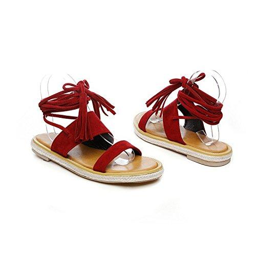 de El plana una es mujer casual correa sandalias base red Colegio wqfAp