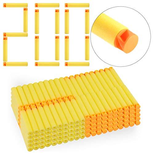 FidgetFidget 200 Dart Refill Pack for Nerf N-Strike Elite for Accustrike Series Replacement New Yellow from FidgetFidget