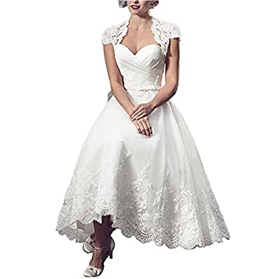 Lampang Lace Vintage Wedding Dress White Evening Gown for Women