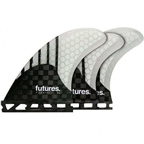 Future Fins Generation Series F6 5 Fin V2 Honeycomb Carbon Thruster surfboard fin set by Future Fins