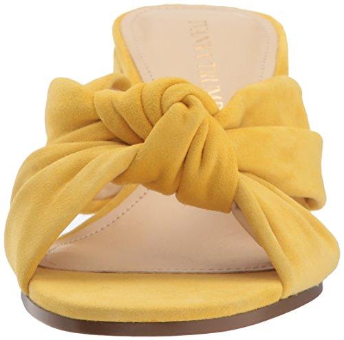 Ivanka Suede Yellow Sandal Earin Women's Trump Slide rzXYrq