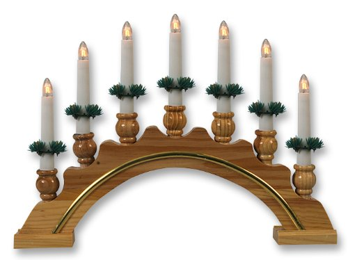 christmas candle arch decoration. Black Bedroom Furniture Sets. Home Design Ideas