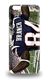 Scratch Free Phone 3D PC Soft Case For Iphone 6 Plus Retail Packaging NFL New England Patriots Deion Branch #84 ( Custom Picture iPhone 6, iPhone 6 PLUS, iPhone 5, iPhone 5S, iPhone 5C, iPhone 4, iPhone 4S,Galaxy S6,Galaxy S5,Galaxy S4,Galaxy S3,Note 3,iPad Mini-Mini 2,iPad Air )