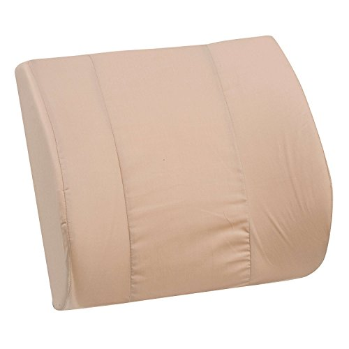 Duro-Med Contour Lumbar Back Support Cushion Pillow with Strap