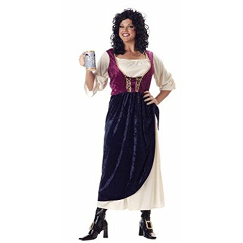 BOS Plus Size Tavern Wench Costume Size: Women's
