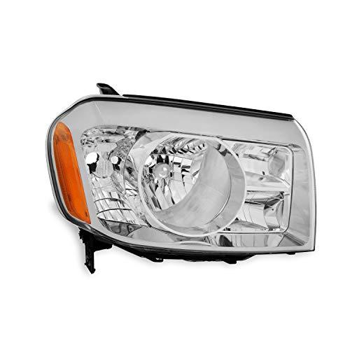For Honda Pilot SUV Chrome Passenger Right Side Headlight Head Lamp Front Light Replacement ()