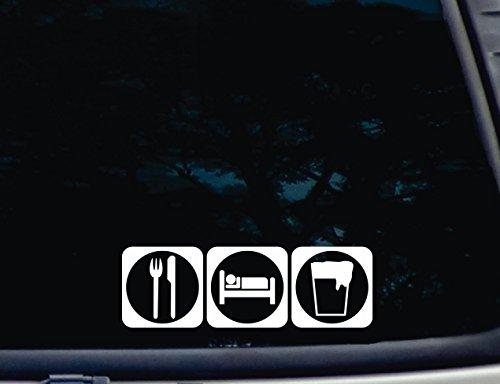 eat-sleep-drink-beer-8-1-2-x-2-3-4-die-cut-vinyl-decal-for-windows-cars-trucks-tool-boxes-virtually-