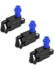 Mainstayae 3PCS Ignition Coil Replacement Parts Replacement for L-exus GS300 IS300 SC300 S-upra 3.0L I6