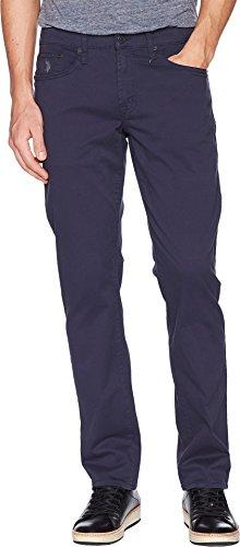 U.S. Polo Assn. Men's Slim Straight 5 Pocket Stretch Twill Jean, Club Navy, 36Wx30L