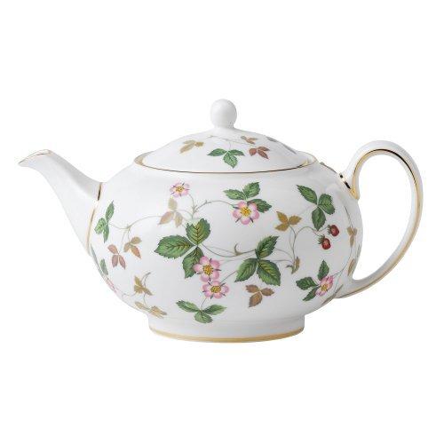 Wedgwood Wild Strawberry 1.4-Pint Teapot